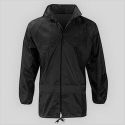 Waterproof Rain Jacket Black