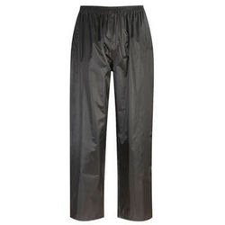 Waterproof Rain Overtrousers Black