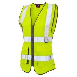 Women+39s Superior Waistcoat Yellow