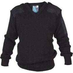 Epaulette Jumper - Wool Mix