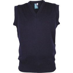 Mens Wool Mix Vest
