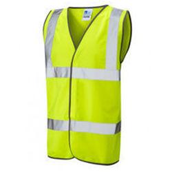 Yellow Hi VIs Security Vest